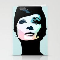posters Stationery Cards featuring Audrey Hepburn Posters by Creativehelper