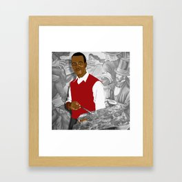 Hale Woodruff Framed Art Print