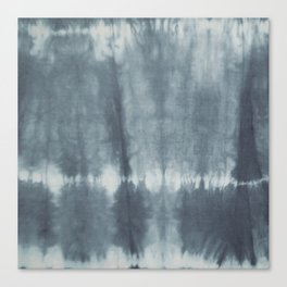 Tye Dye Gray Canvas Print