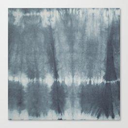 Tye Dye Gray Canvas Print