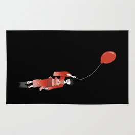 red balloon Rug