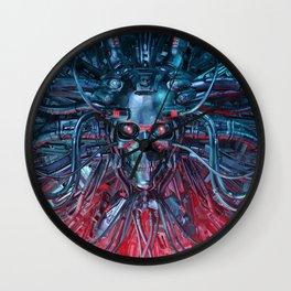 Heavy Metal Mind Wall Clock