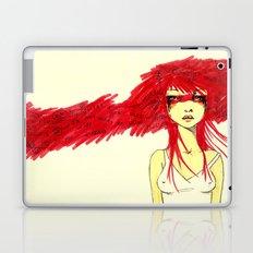 Red Target Laptop & iPad Skin