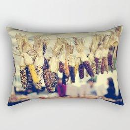 Indian Corn at the Farmers Market Rectangular Pillow