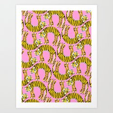 // TIGER PATTERN // Art Print