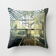 Glass House Throw Pillow