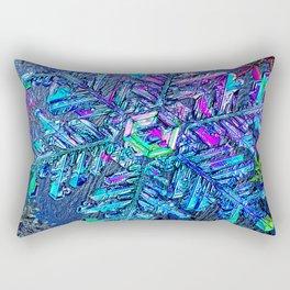 Snowflake Rainbows Winter Dream Rectangular Pillow