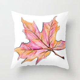 Leaf Brilliant Throw Pillow