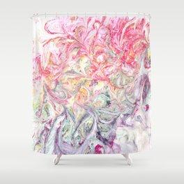 Fading Swirl Shower Curtain