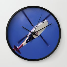 Trauma Hawk Wall Clock