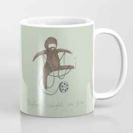 Bigfoot Caught on Film Coffee Mug