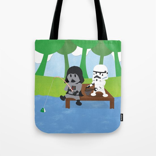 SW Kids - Darth Fishing Tote Bag