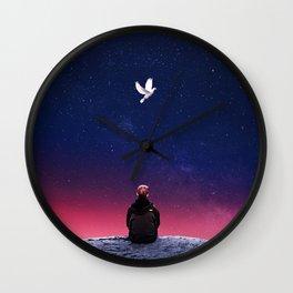 Slow Ascent Wall Clock