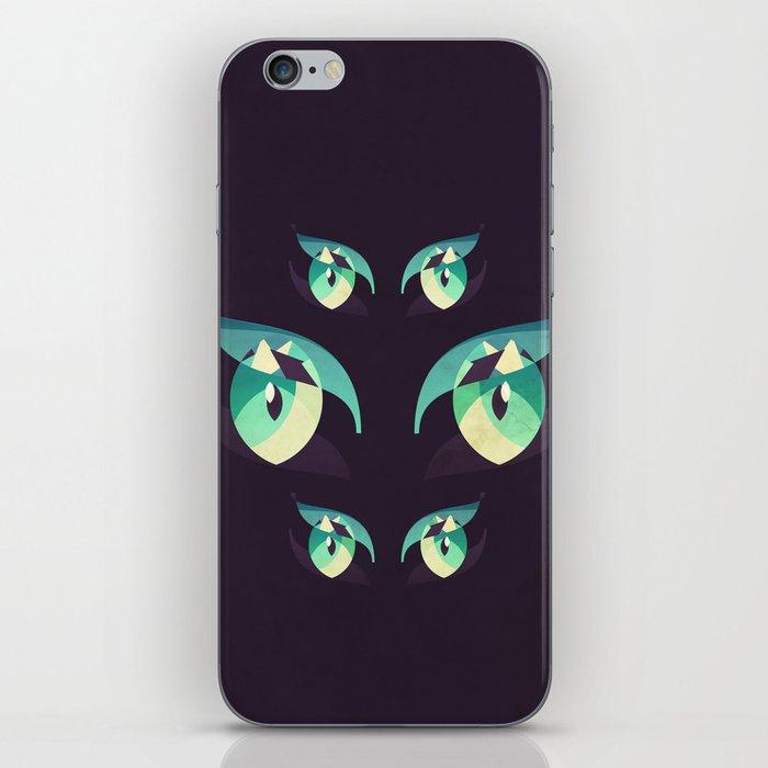 Demons's eyes iPhone Skin