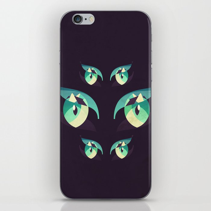 Demons's eyes iPhone Skin