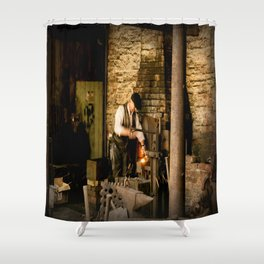 Industry Shower Curtain