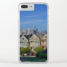 Painted Ladies San Francisco CA Clear iPhone Case