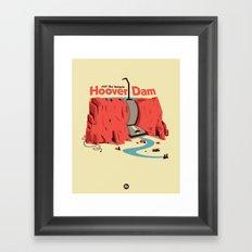 The Hoover Dam Framed Art Print
