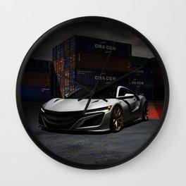 NSX Wall Clock