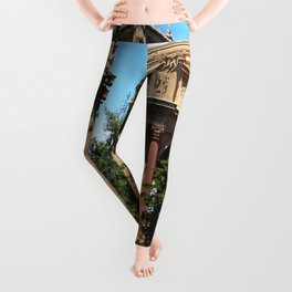 View Over The Lagoone To The Palace Of Fine Arts - San Francisco Leggings