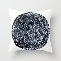 Black hole sun Throw Pillow