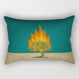 Exodus 3:2 Rectangular Pillow