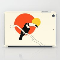 toucan iPad Cases featuring Toucan by Rebekhaart