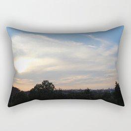 Peace at the sky Rectangular Pillow