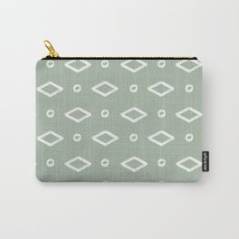 Tribal Print Sage Carry-All Pouch