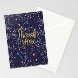Thank you #hand lettering Stationery Cards