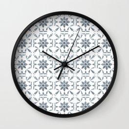 Ravello - Tile Pattern Wall Clock