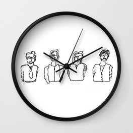 class of people Wall Clock