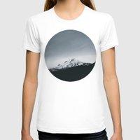 oregon T-shirts featuring Mt. Hood x Oregon by Leah Flores