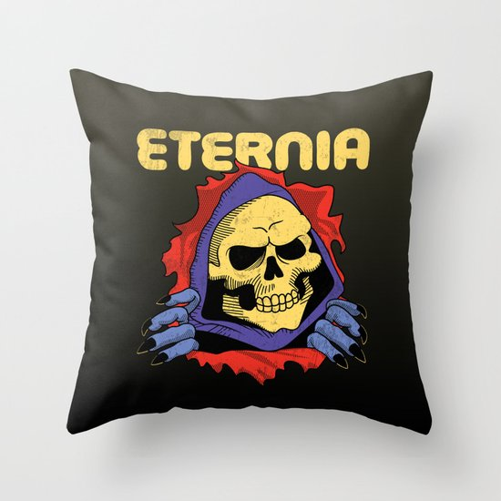 eternia. Throw Pillow