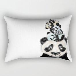 Panda Totæm Rectangular Pillow