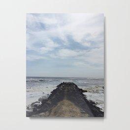 Rock Dock Metal Print