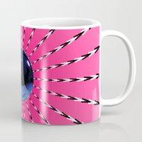 artrave Mugs featuring artRAVE Gazing Ball by ARTPOPdesigns