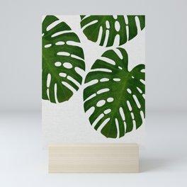 Monstera Leaf III Mini Art Print