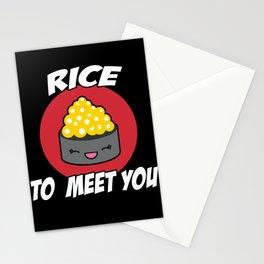 sushi t-shirt, anime outift, sushi fan t-shirt Stationery Cards
