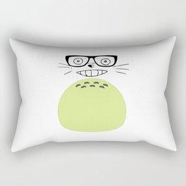Hipster face gibli Rectangular Pillow