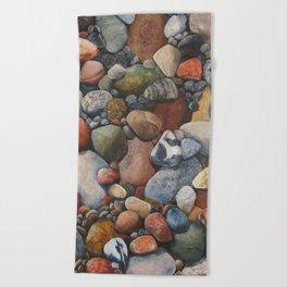 Rocky Road Beach Towel