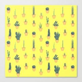 cacti patten Canvas Print