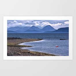 Over the Sea to Skye Art Print