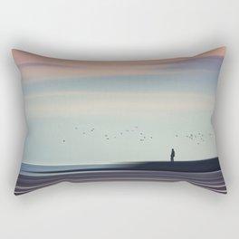 Drifting By Rectangular Pillow