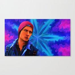Delsin Rowe x Kaleidoscope Canvas Print