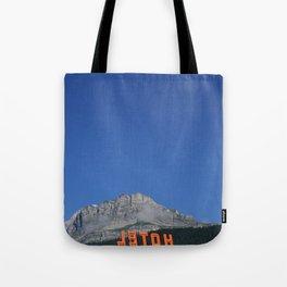 Chamonix hotel Tote Bag