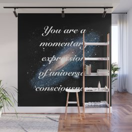 Momentary Expression of Universal Consciousness Wall Mural