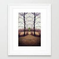portal Framed Art Prints featuring Portal by KunstFabrik_StaticMovement Manu Jobst
