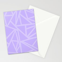 Shards in Purple Stationery Cards