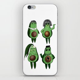 The Rose Family iPhone Skin